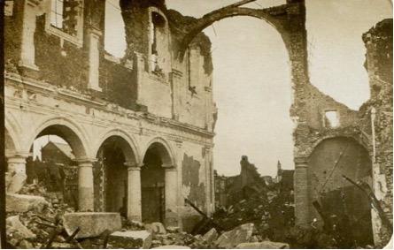Amongst the ruins of Lens