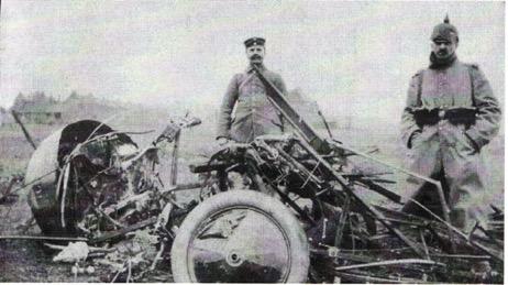 French plane shot down