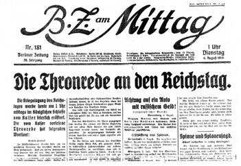 Headline of BZ