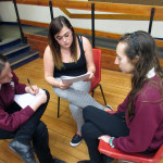Framing questions and working with students from ARU 03