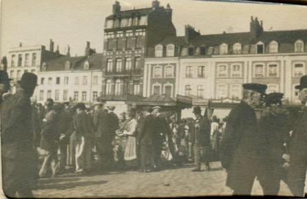 Market square in Lille