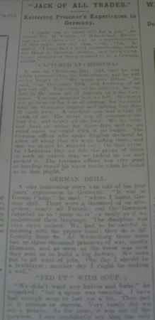 Newspaper cutting 2