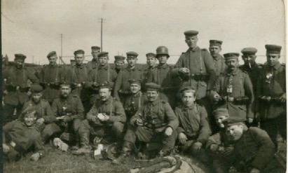 Part of 12th Company after the Battle of the Somme