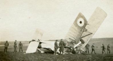 Shot down enemy plane