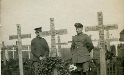 War Cemeteries at Verdun and Bernes